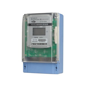 DTSY309 three-phase four-wire electronic prepaid energy meter (with RS485 interface)
