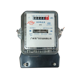 DD7666 long - life single - phase watt - hour meter