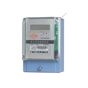 DDS309 single-phase electronic energy meter (with RS485 interface)