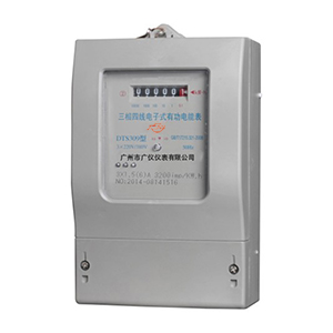 DTS309 electronic three-phase four-wire active energy meter