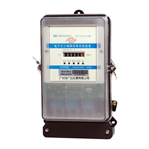 DTS309 electronic three-phase four-wire active energy meter (counter display)