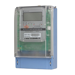 DTS309 electronic three-phase four-wire active energy meter (liquid crystal display)