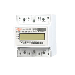 DDSY309-G-type single-phase electronic pre-paid sharing table (rail)