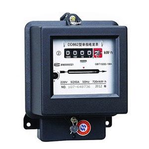 Mechanical watt - hour meter