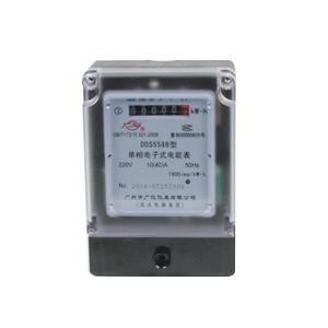 DDS5588型单相电子式电能表