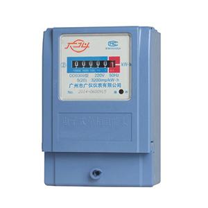 DDS309单相电子式电能表(计度器显示)