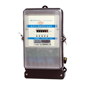 DTS309电子式三相四线有功电能表(计度器显示)