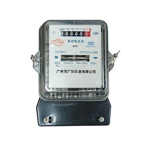 DD7666型长寿命单相电能表